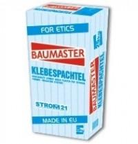 KLEBESPACHTEL BIANCO BAUMASTER – adeziv pentru plăcile termoizolanteKLEBESPACHTEL BIANCO BAUMASTER – клей для теплоизоляционных плитKLEBESPACHTEL BIANCO BAUMASTER – glue for thermal insulation panels